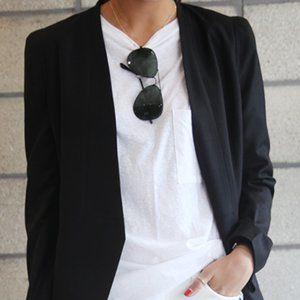 Zara Basic Black Women Blazer